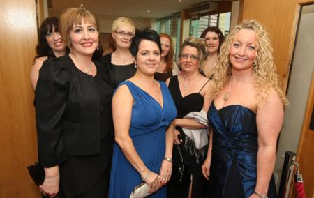 Treading the red carpet at the Wiltshire Business Of The Year awards