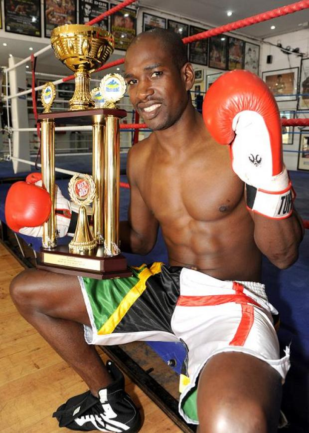 Swindon boxer Lawrence Bennett