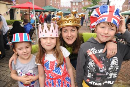 Having right royal fun marking the Queen's Diamond Jubilee