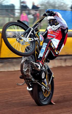 Peter Kildemand, who has re-signed for Swindon Robins