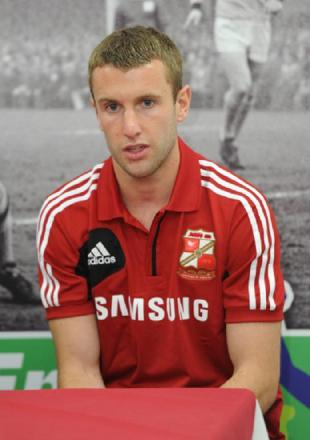 Swindon Town striker Andy Williams