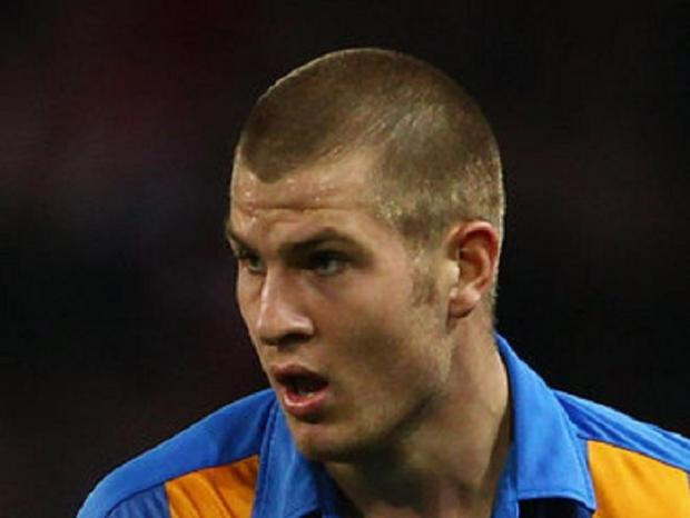 James Collins during his time at the New Meadow