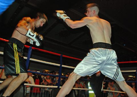 Action from a previous Fightclub show
