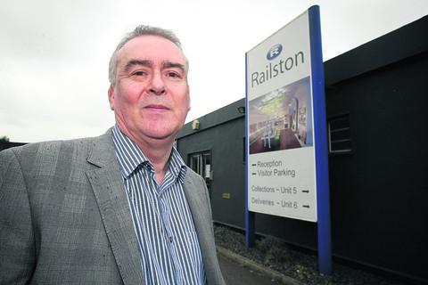 Stephen Rumsey, chairman of Railston in Royal Wootton Bassett