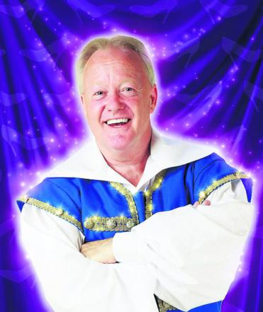 Keith Chegwin, who is turning on Swindon's Christmas lights