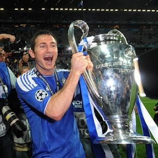 Frank Lampard was crucial to Chelsea's European success last season