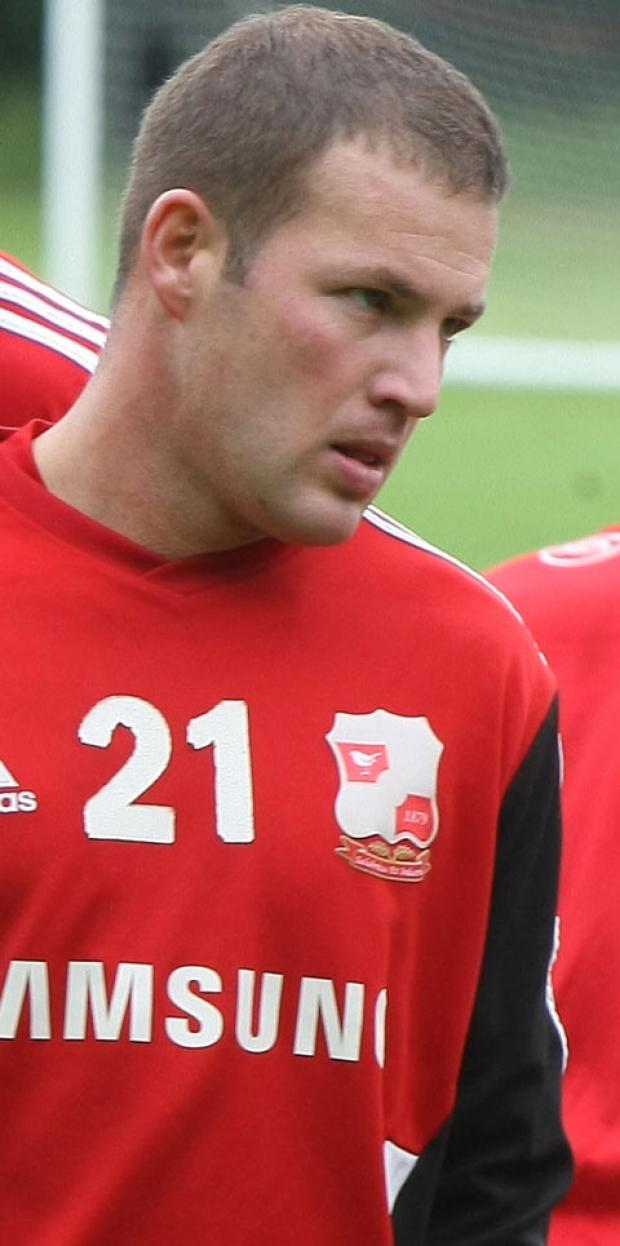 Swindon Town's Alan Navarro