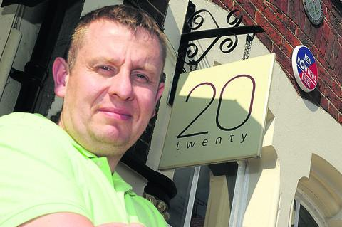 Darren Turner, of Hotel Twenty 20