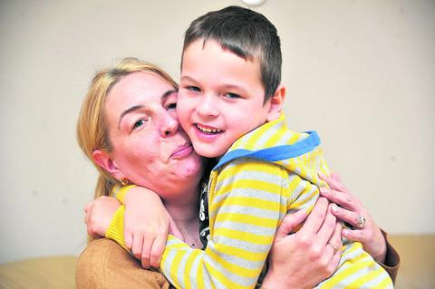 Corey and mum Kelly have had the best news they could hope for