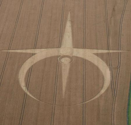 Mystery of the crop circles returns as strange patterns in the corn fields of Wiltshire reappear with the summer sunshine