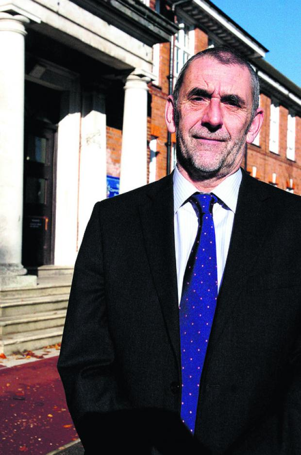 Keith Defter, headteacher of Commonweal School