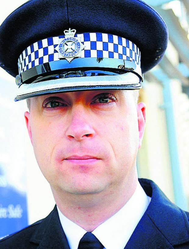 Swindon Advertiser: Swindon Superintendent Gavin Williams