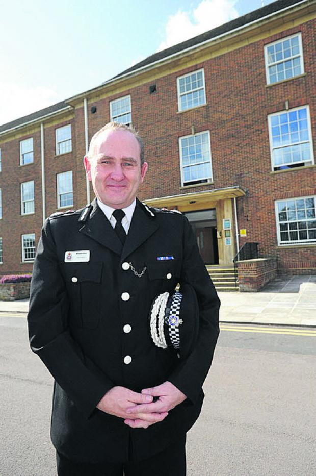 Swindon Advertiser: Temporary chief constable Patrick Geenty