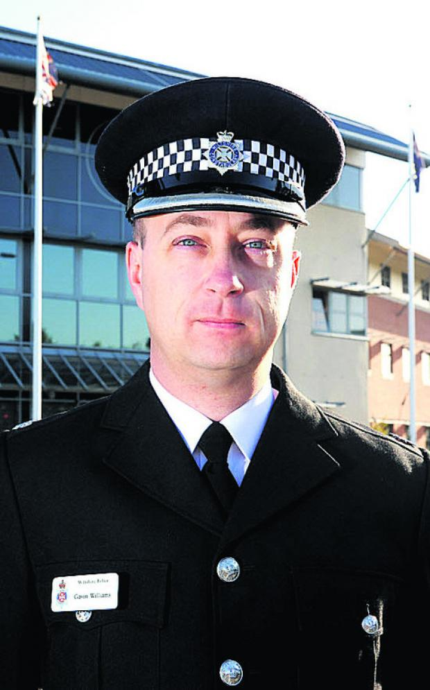 Swindon Advertiser: Q&A with Wiltshire Police Supt Gavin Williams