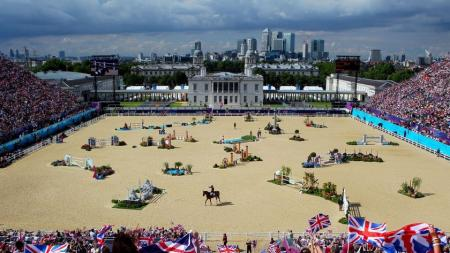 Greenwich Park: London's oldest Royal park and home to the Equestrian and Modern Pentathlon Olympic events.