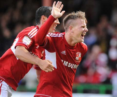 Swindon's Matt Ritchie
