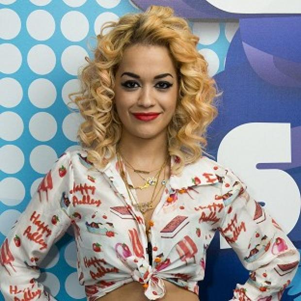 Rita Ora was knocked off the number one spot in the singles chart by Sam and the Womp