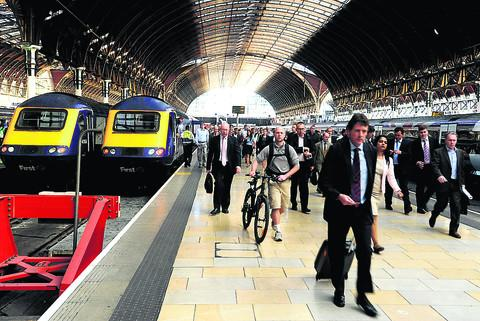 Swindon Advertiser: The price of a ticket to London is exhorbitant when you travel by train