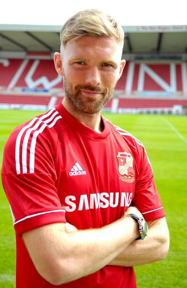 Swindon Town's Darren Ward
