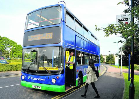 New bus service off to a quiet start
