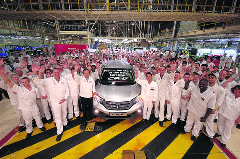 Honda to plough £267m into town plant