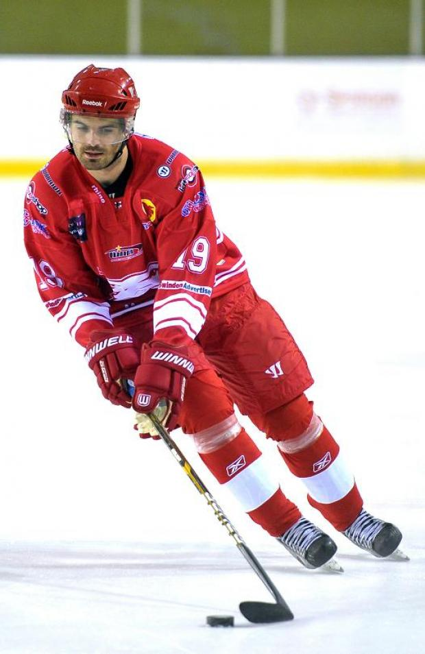 Swindon Wildcats star Aaron Nell scored twice last night