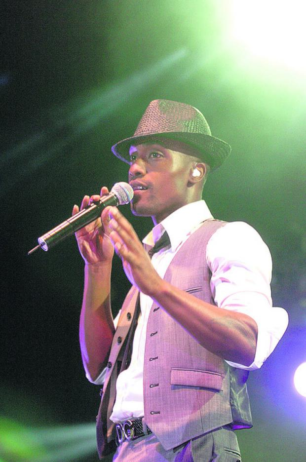 Singer Simon Webbe, who is appearing at Tiger Bills