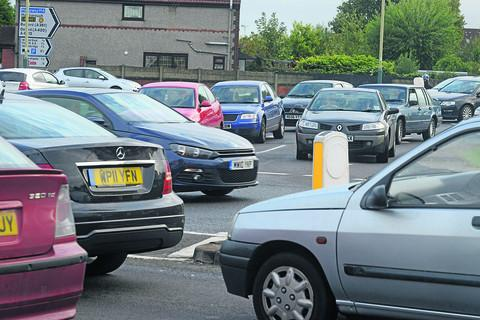 Swindon Advertiser: Congestion on Drove Road and the Magic Roundabout