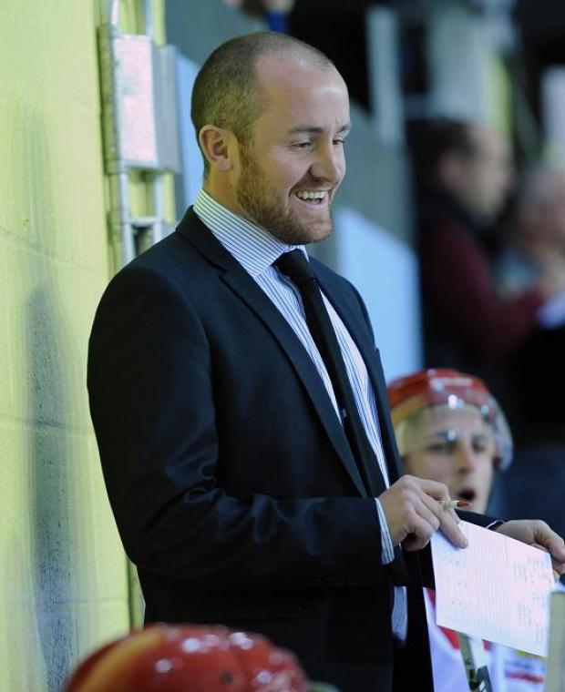 Head coach Ryan Aldridge, pictured, has brought Henri Sandvik to Swindon Wildcats
