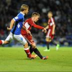 Swindon Advertiser: Matt Ritchie in action last night