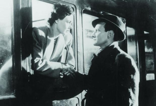 Scene from classic movie Brief Encounter