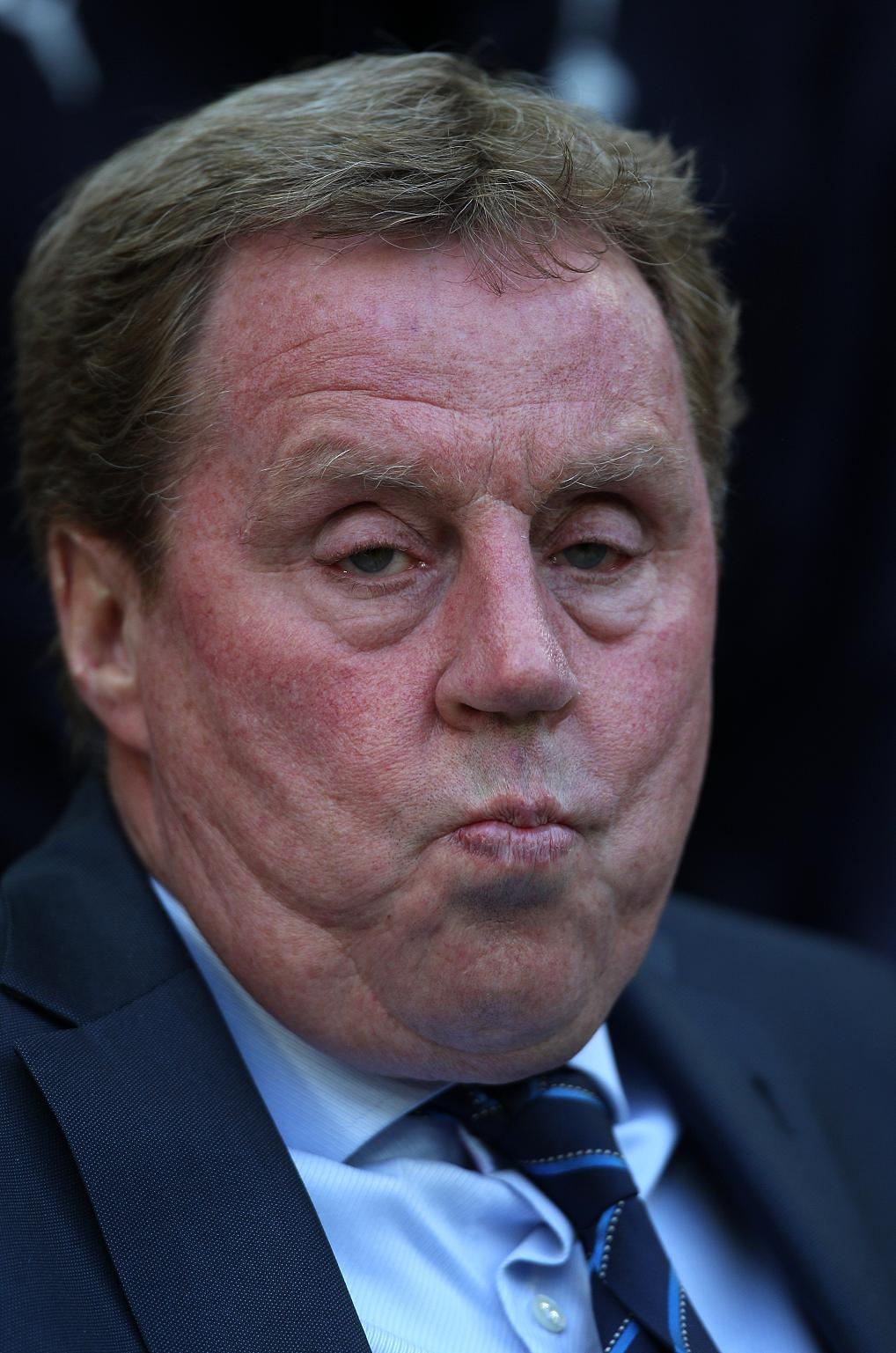 VOLUNTARY WORK: Harry Redknapp