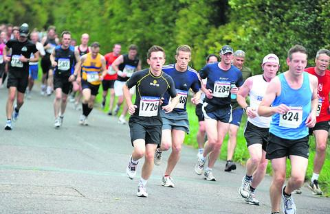 Competitors taking part in last year's Swindon Half Marathon