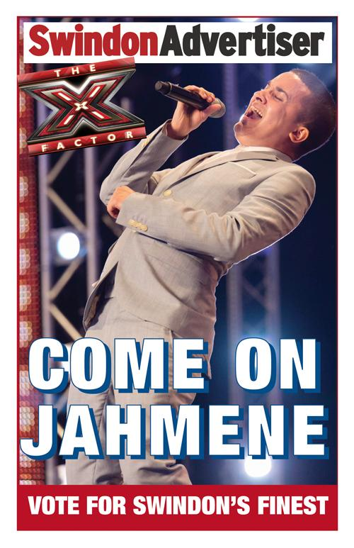 Download our Jahmene poster and be in with a chance to win