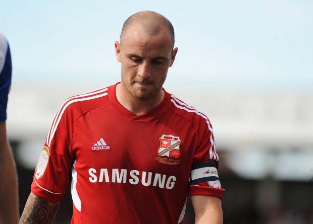Swindon Town's Alan McCormack