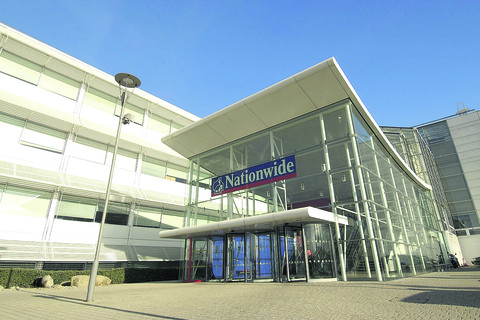 Nationwide headquarters in Pipers Way