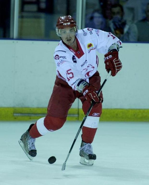 Wildcats defenceman Joe Baird