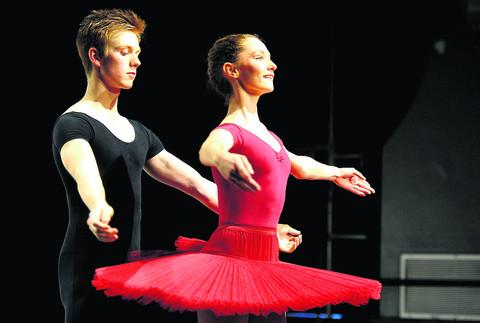 Youngsters are captivated by ballet