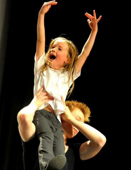 Swindon pupils get advice from professional dancers