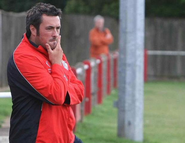 IMPRESSED: Fairford boss Paul Braithwaite