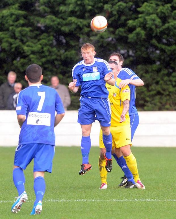 Chris Smith in action for Supermarine