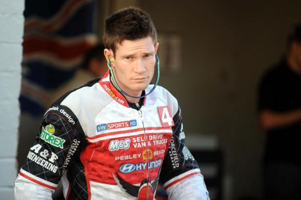 Former Swindon man Jason Doyle in his Robins' kevlars