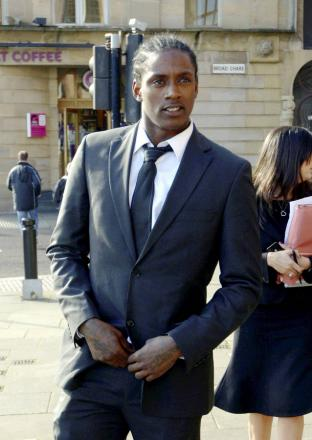 Nile Ranger outside court