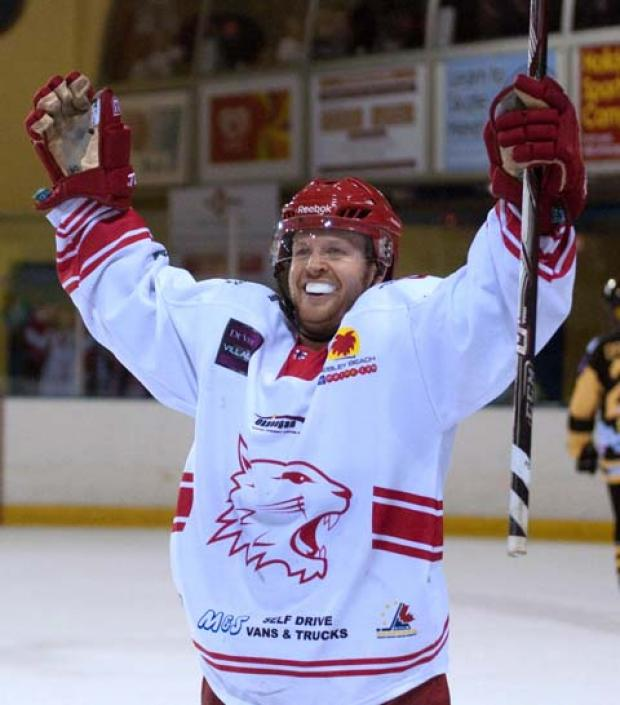 Swindon Wildcats star Jonas Hoog