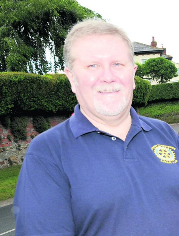 Rotarian Bob Barrett, who is one of those organising the concert