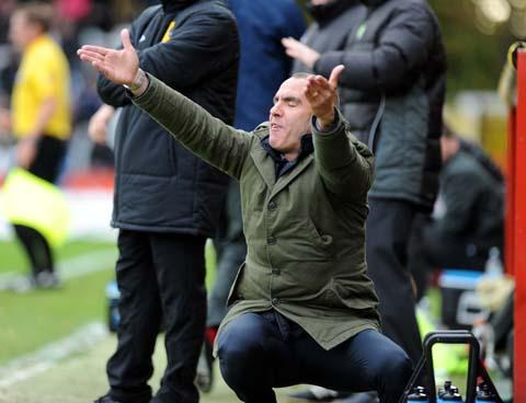 Paolo Di Canio was left frustrated by the decision to postpone Swindon Town's trip to Colchester