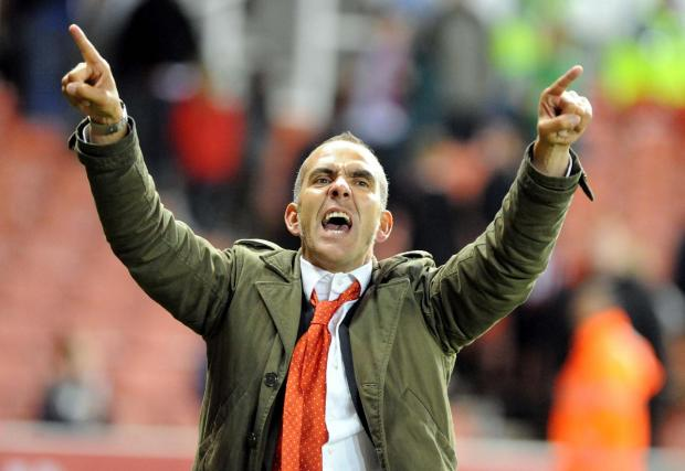 IT TAKES TWO: Paolo Di Canio