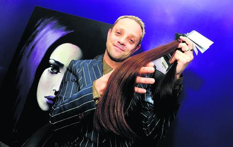 Future Lengths hair extension salon is to open in Victoria Rd, Old Town. Pictured is owner Drew Carlton