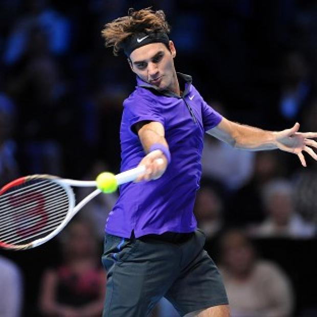 Roger Federer, pictured, was taking nothing for granted as he beat David Ferrer