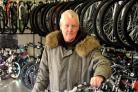 Bill Brown, who received a new bicycle from Swindon Cycles Superstore as part of our Christmas Wish Appeal in 2011
